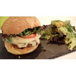 Burger végane chez Sam à Sain-Étienne